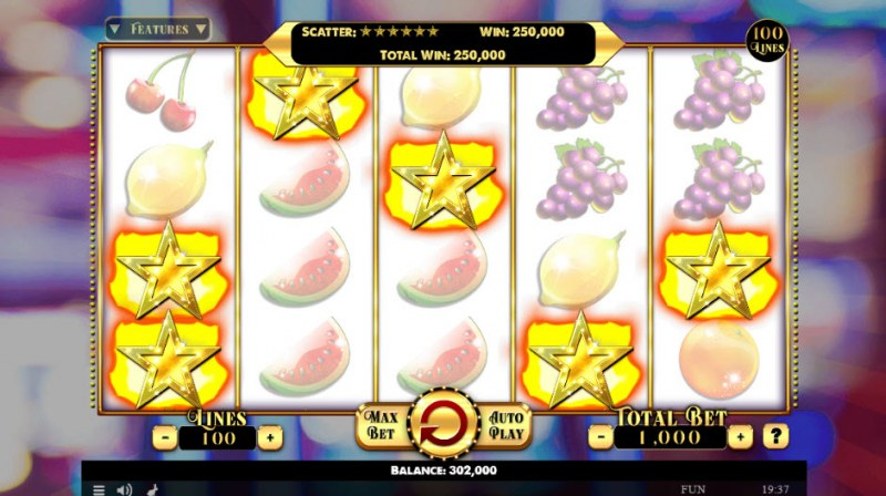 Penny Fruits Extreme :: Scatter Win