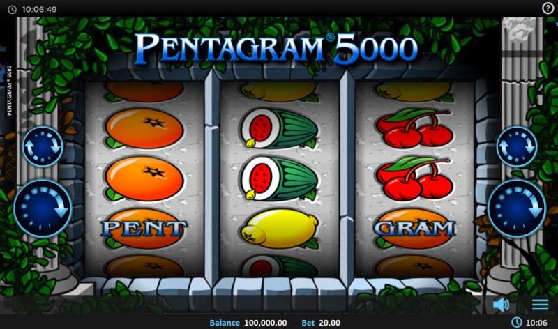 Pentagram 5000 :: Main Game Board