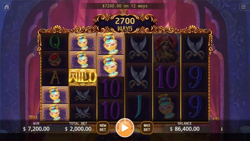 Persia Bonanza Megaways :: Multiple winning combinations