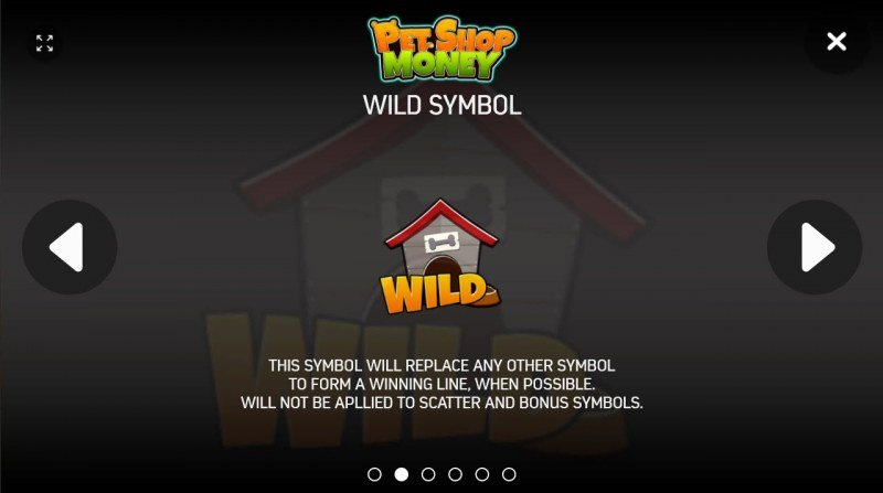 Pet Shop Money :: Wild Symbols Rules
