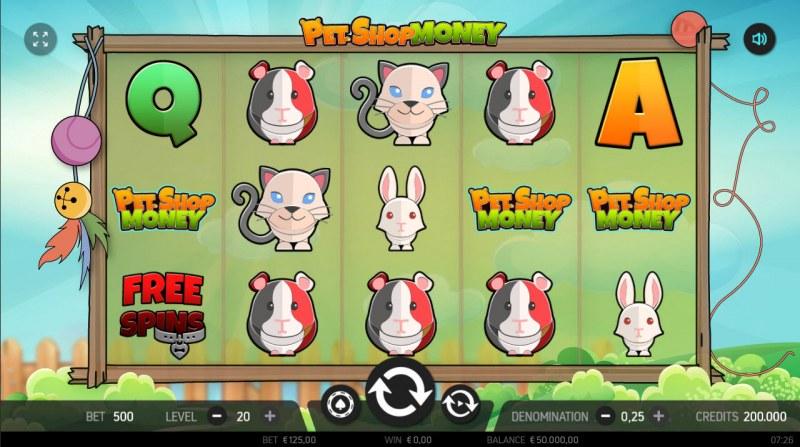Pet Shop Money :: Main Game Board