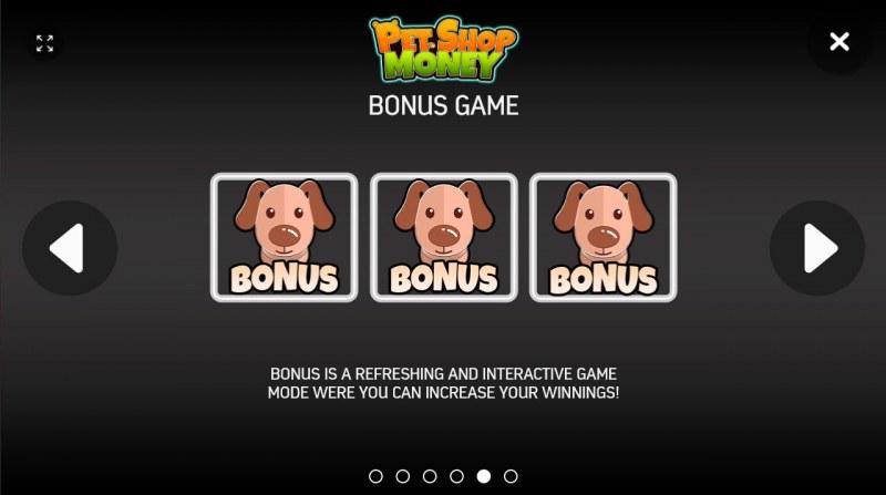 Pet Shop Money :: Bonus Game Rules