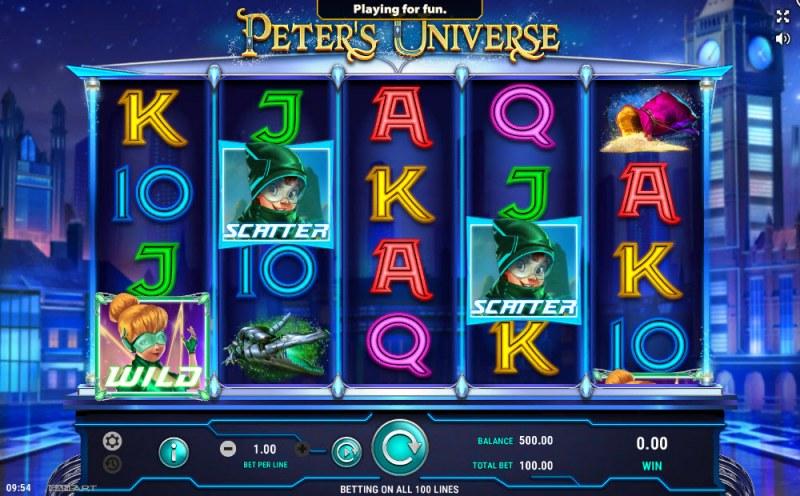 Peter's Universe :: Main Game Board