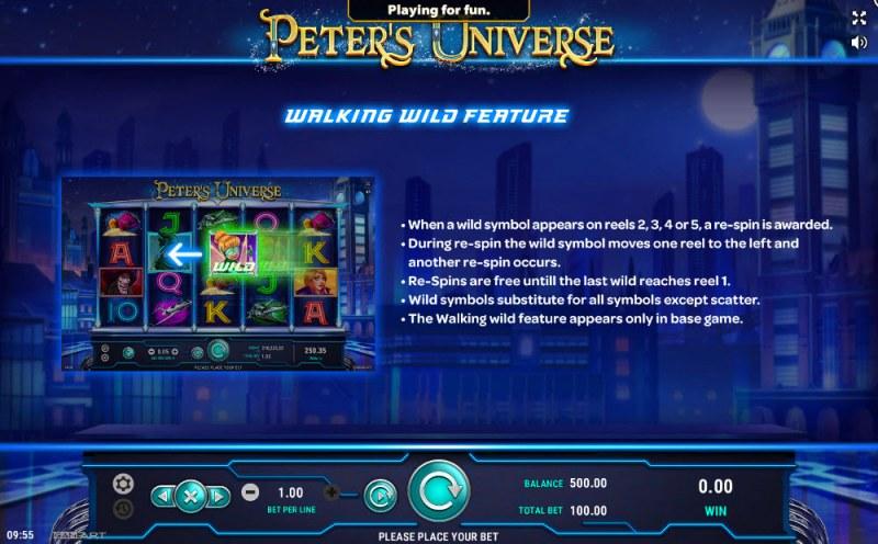 Peter's Universe :: Walking Wilds