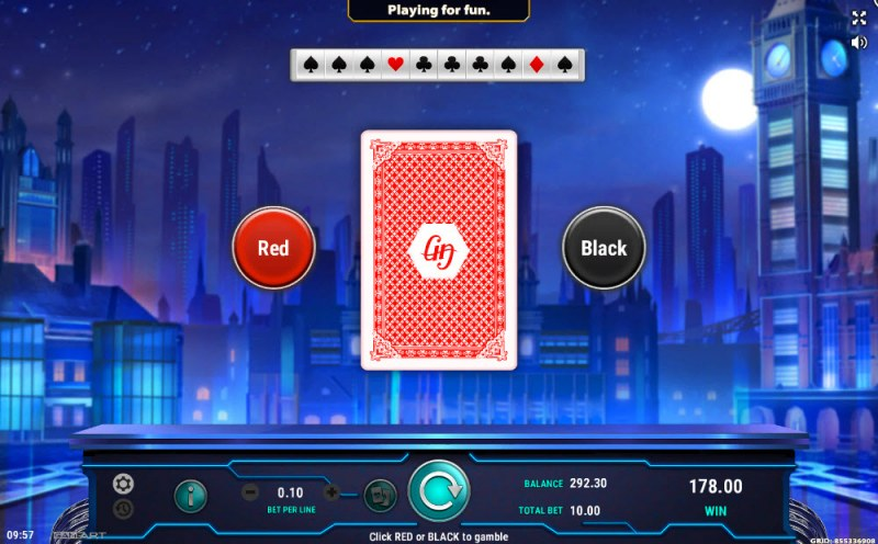 Peter's Universe :: Black or Red Gamble Feature