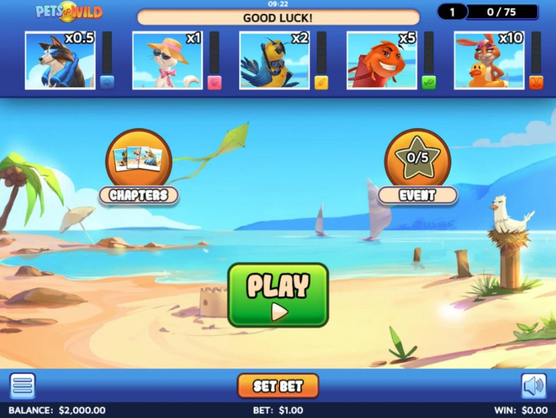 Pets Go Wild :: Main Game Board