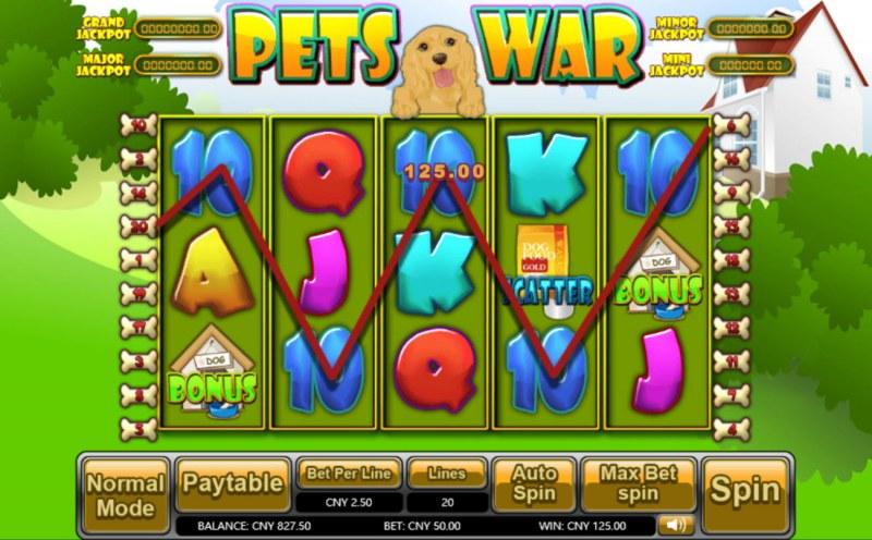 Pets War :: Five of a kind
