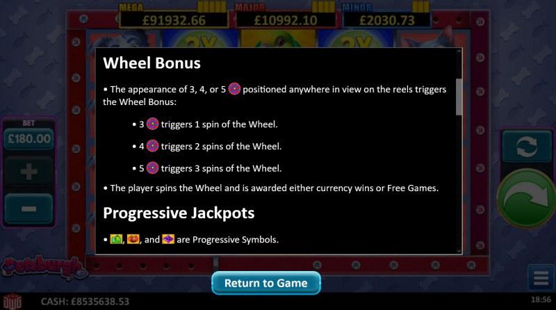 Petsburgh :: Wheel Bonus