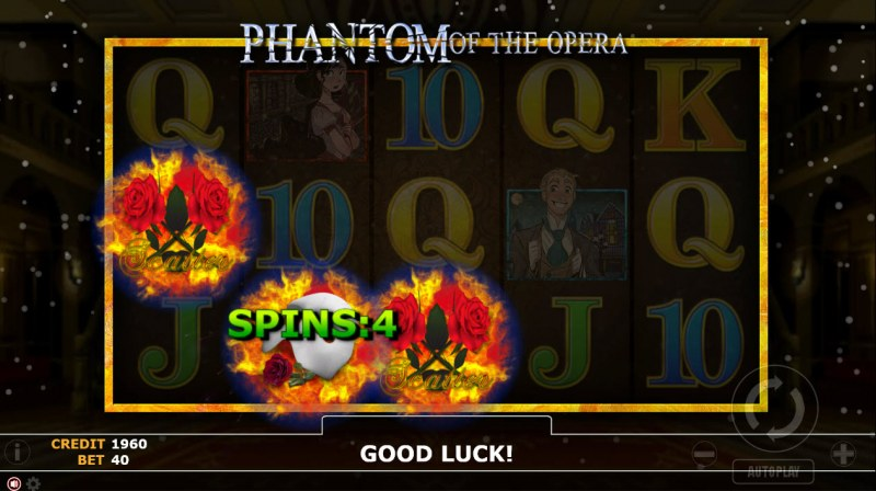 Phantom of Opera :: Pick a scatter symbol and reveal the number of free spins