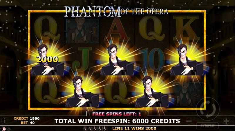 Phantom of Opera :: Five of a kind