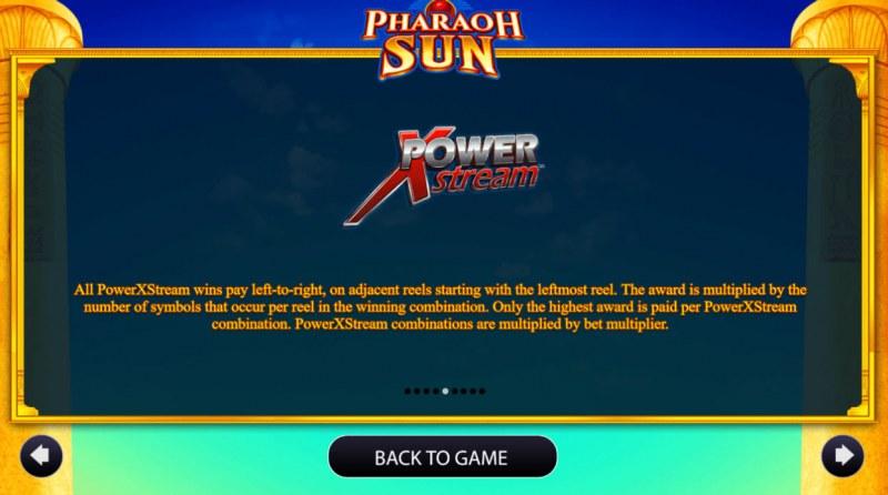 Pharaoh Sun :: Feature Rules