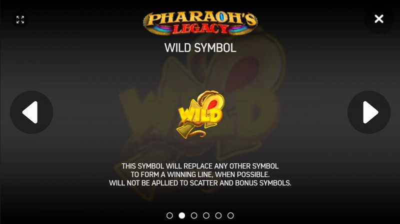 Pharaoh's Legacy :: Wild Symbols Rules