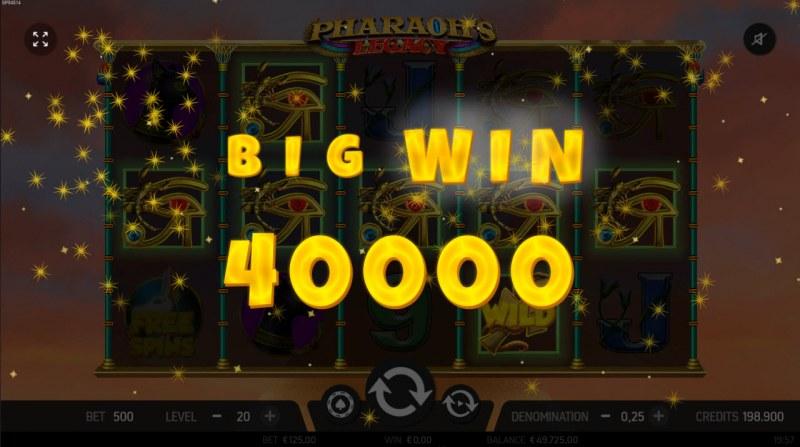 Pharaoh's Legacy :: Big Win