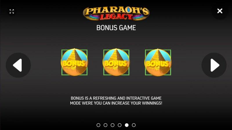 Pharaoh's Legacy :: Basic Game Rules