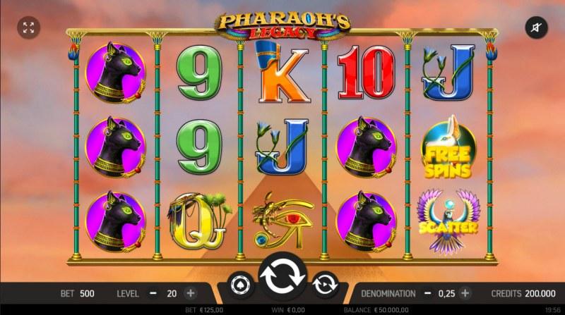 Pharaoh's Legacy :: Main Game Board