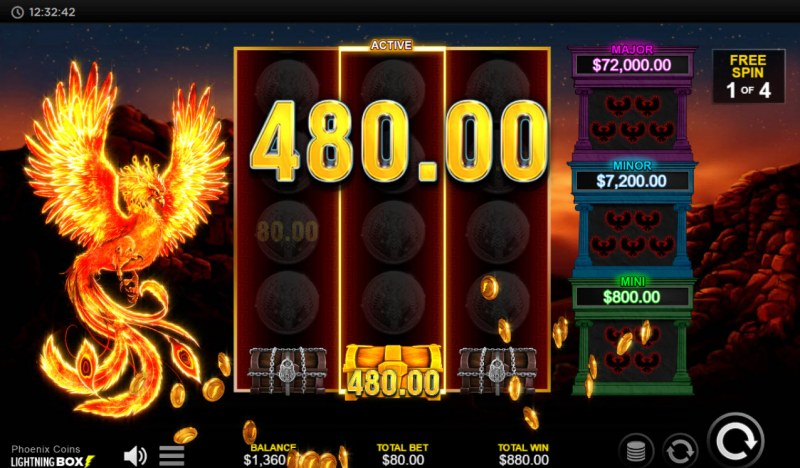 Phoenix Coins :: Collect prizes to win