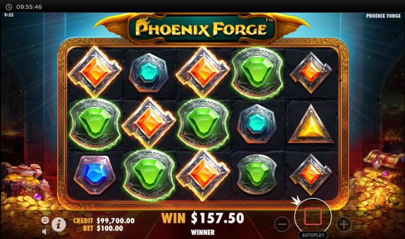 Phoenix Forge :: Multiple winning paylines