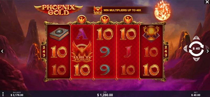 Phoenix Gold :: Multiple winning combinations lead to a big win