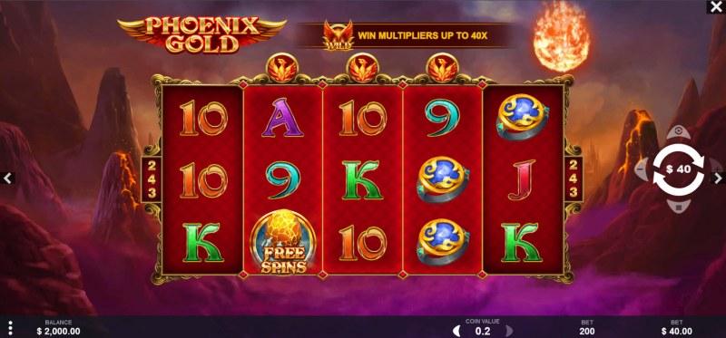Phoenix Gold :: Main Game Board