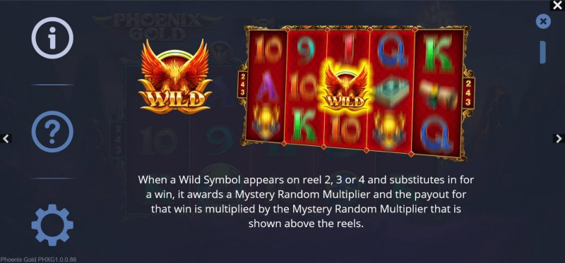 Phoenix Gold :: Wild Symbol Rules