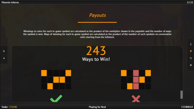 Phoenix Inferno :: 243 Ways to Win