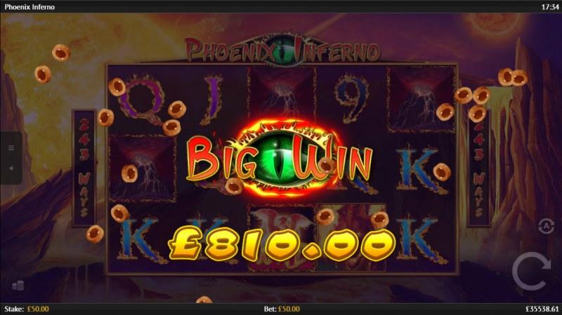 Phoenix Inferno :: Big Win