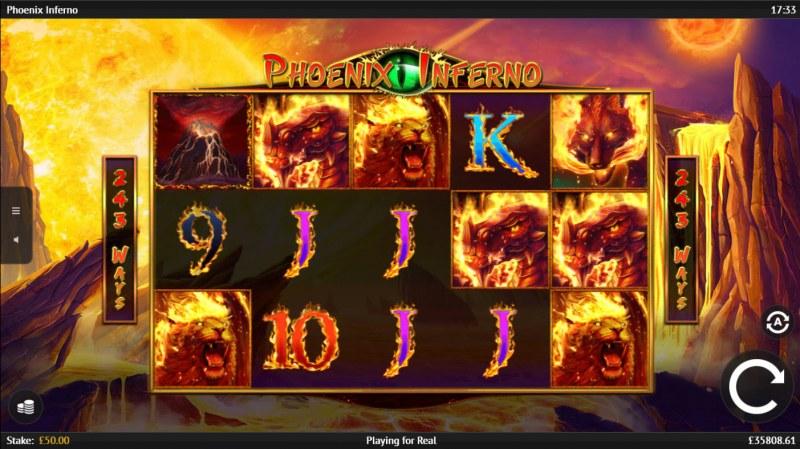 Phoenix Inferno :: Main Game Board