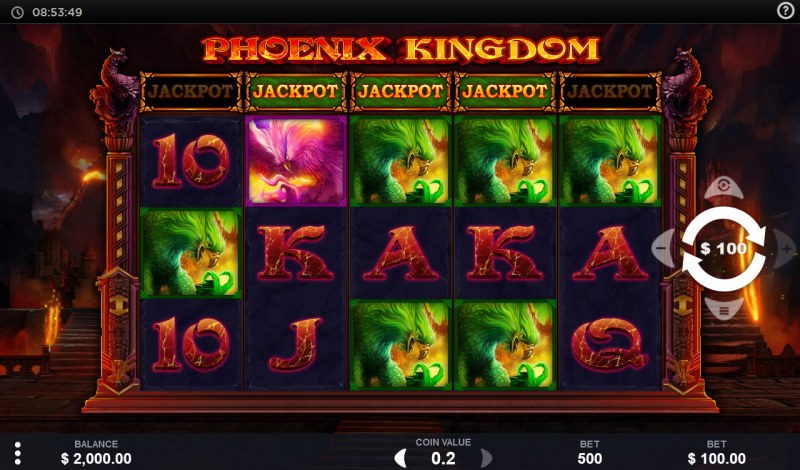 Phoenix Kingdom :: Main Game Board