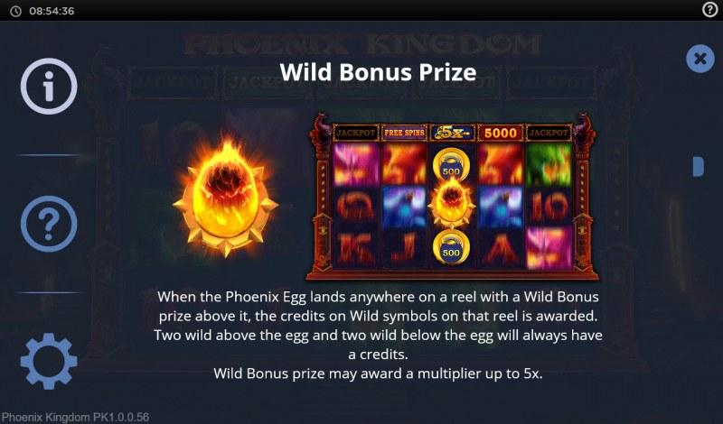 Phoenix Kingdom :: Wild Bonus Prize