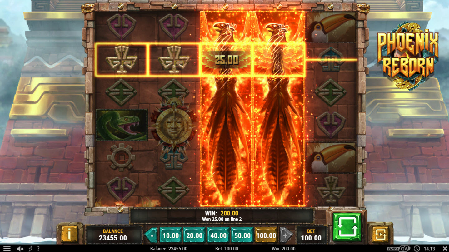 Play slots at Unique Casino: Unique Casino featuring the Video Slots Phoenix Reborn with a maximum payout of $500,000
