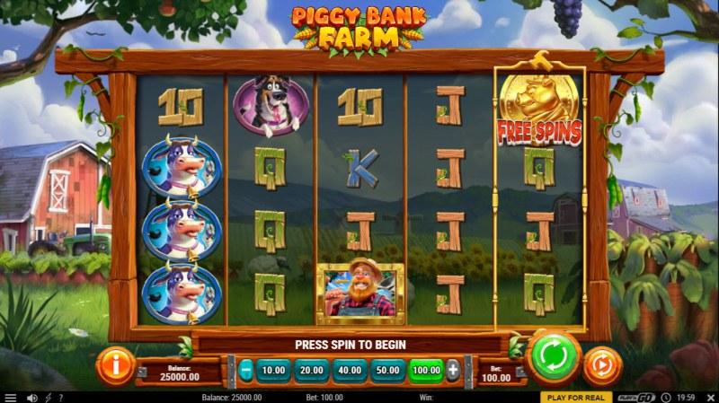 Piggy Bank Farm :: Main Game Board