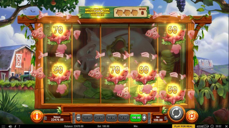 Piggy Bank Farm :: Multiple winning combinations