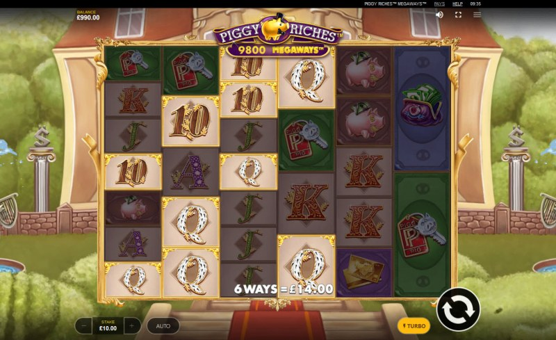 Piggy Riches Megaways :: Multiple winning combinations