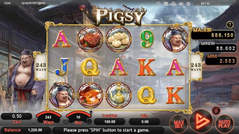 Pigsy :: Main Game Board