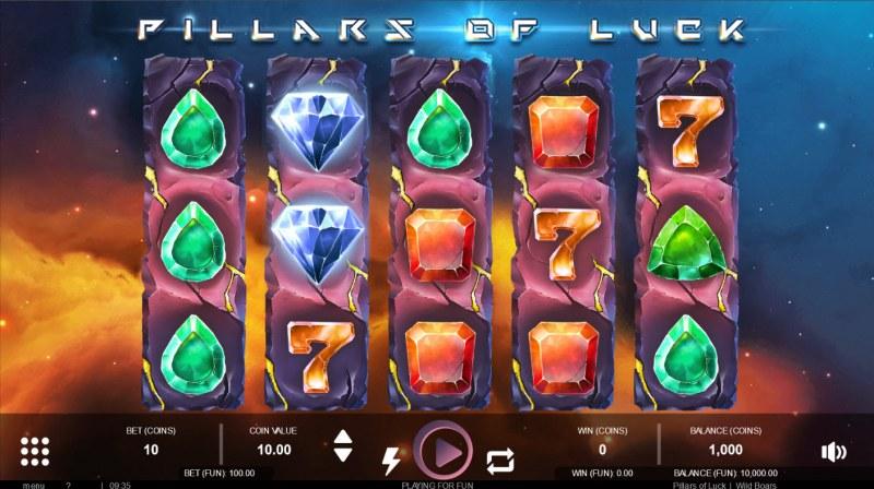 Pillars of Luck :: Main Game Board