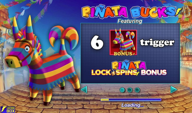 Play slots at Vegas Spins: Vegas Spins featuring the Video Slots Pinata Bucks with a maximum payout of $120,000