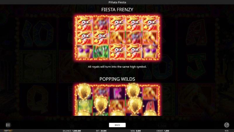 Pinata Fiesta :: Feature Rules