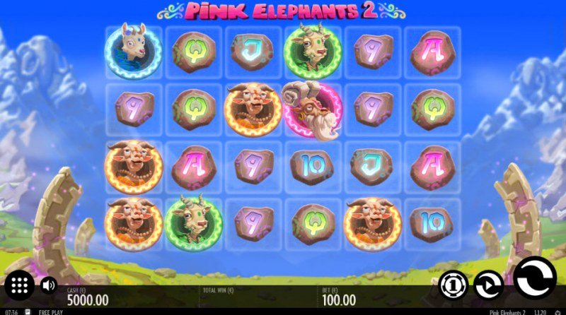 Pink Elephants 2 :: Main Game Board