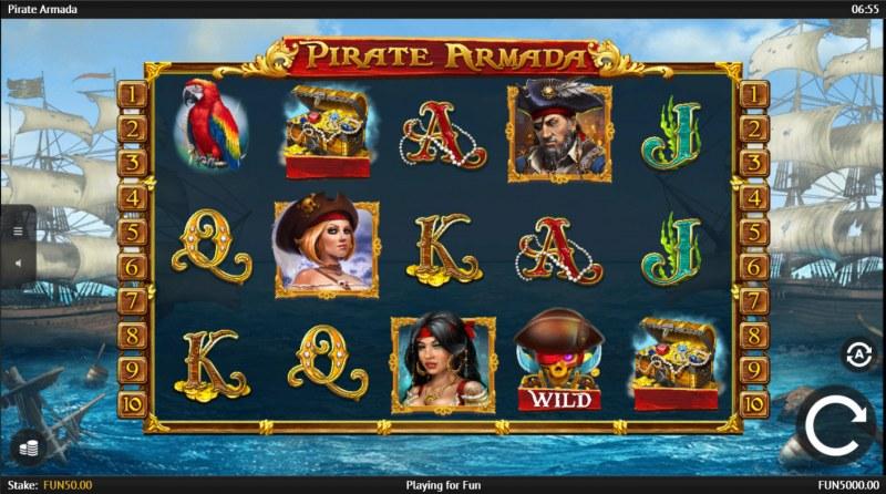 Pirate Armada :: Main Game Board