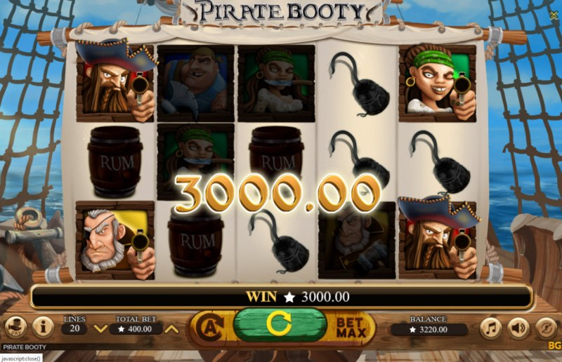 Pirate Booty :: Big Win