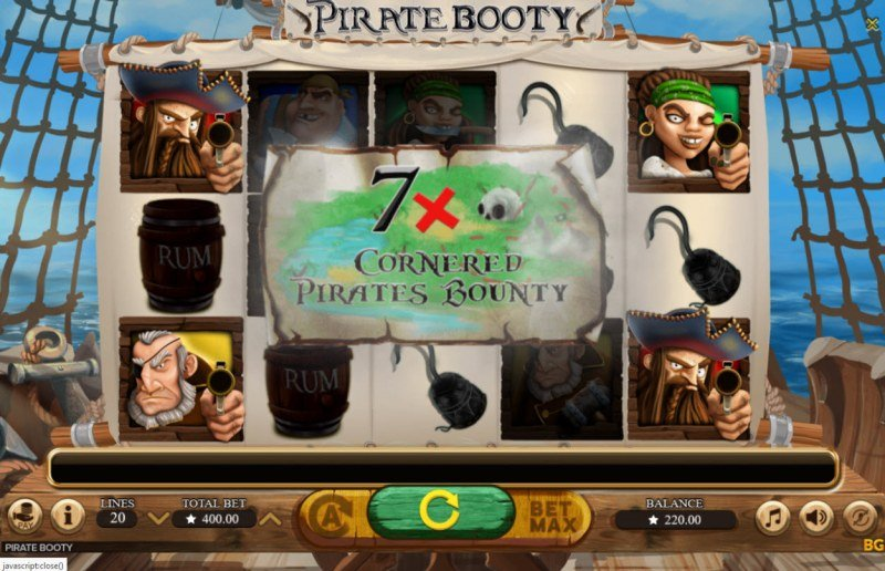 Pirate Booty :: Feature Triggered