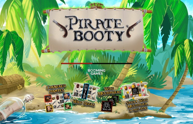 Play slots at Vegas Crest: Vegas Crest featuring the Video Slots Pirate Booty with a maximum payout of $20,000