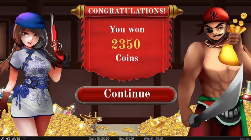 Pirate from the East :: Total free spins payout