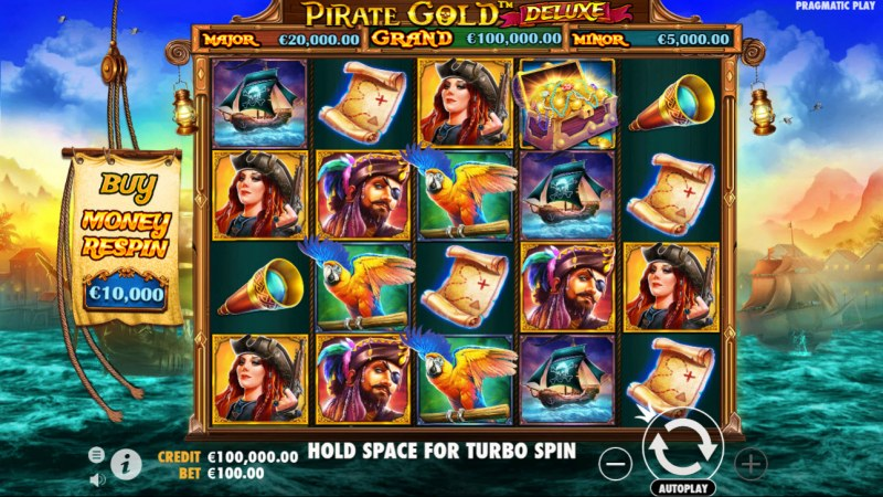 Pirate Gold Deluxe :: Main Game Board