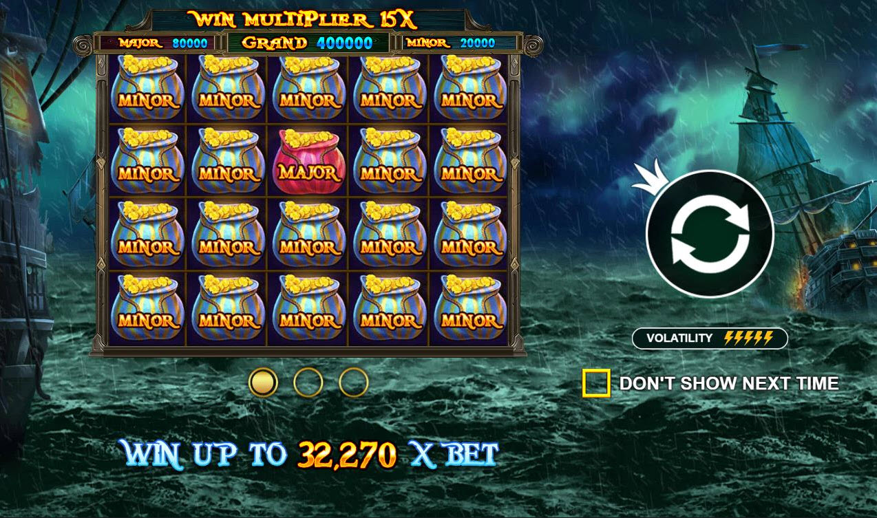 Play slots at Lucky Dino: Lucky Dino featuring the Video Slots Pirate Gold with a maximum payout of $100,000
