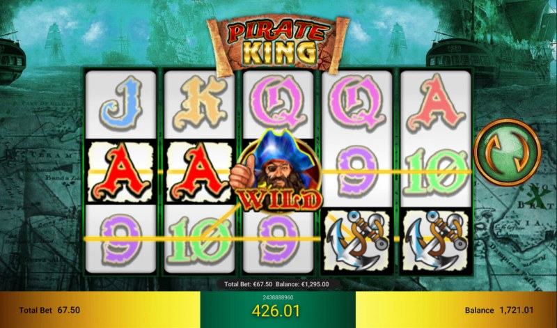 Pirate King :: Multiple winning combinations