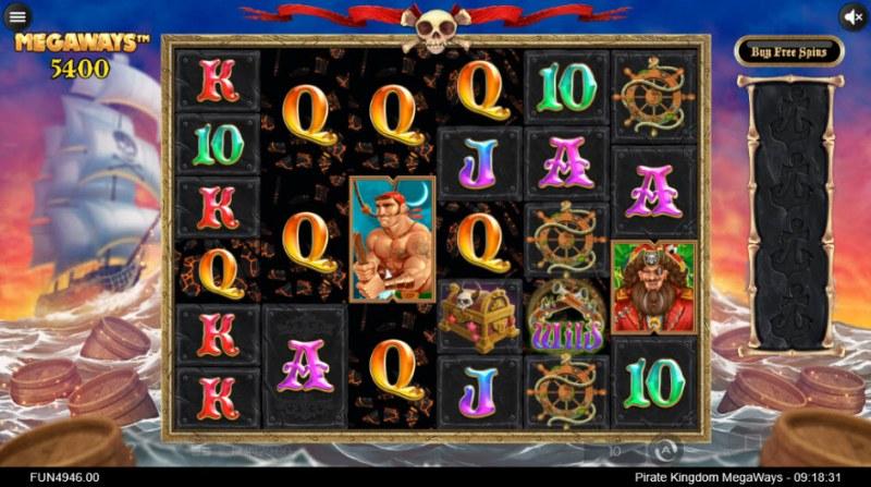 Pirate Kingdom Megaways :: Multiple winning combinations