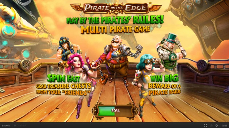 Pirate on the Edge :: Introduction