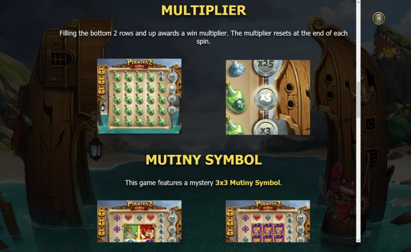 Pirates 2 Mutiny :: Multiplier Rules