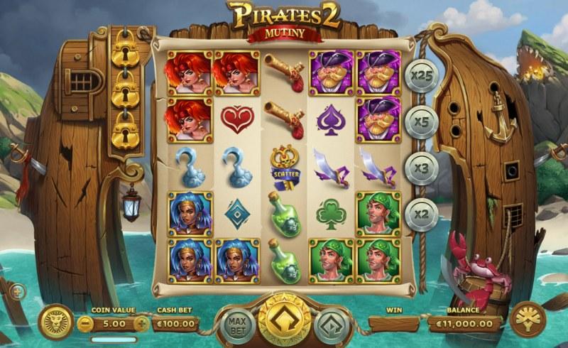 Pirates 2 Mutiny :: Main Game Board